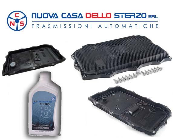 Kit Tagliando Filtro/Coppa Olio - Cambio 8HP | Revisione cambi